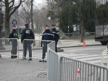 Police à la Concorde
