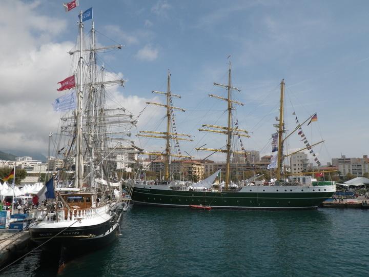le Belem et l'Alexandre Von Humboldt II