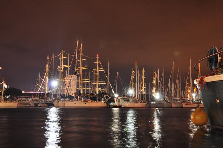 le port de nuit