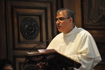 Prédication du père Anis Hanna