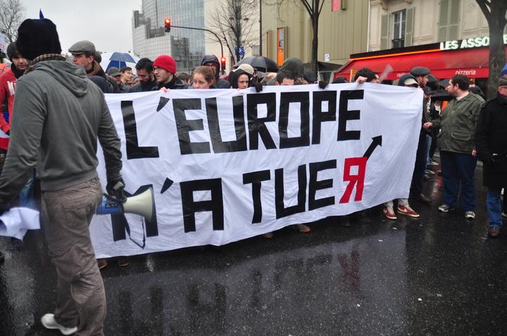 L'Europe m'a tuer