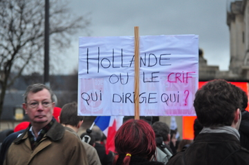 Hollande ou le CRIF ?