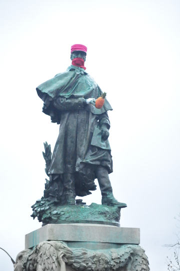 Le maréchal Galliéni en colère