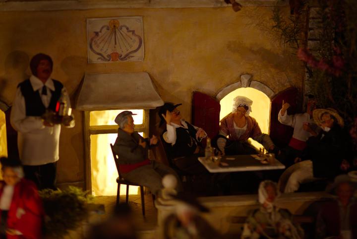 Crèche provençale: les moments de convivialité sont aussi des lieux de mission