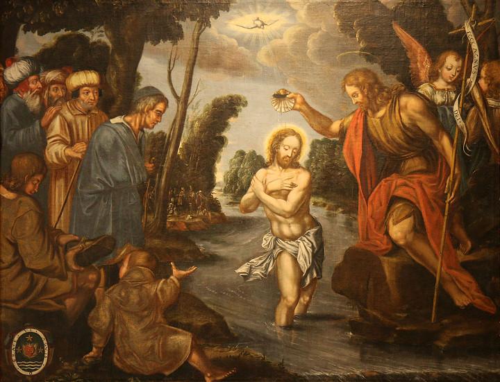 Barthélemy Parrocel, Le baptême du Christ