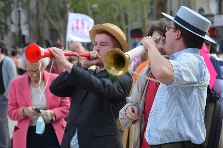 Trompe et vuvuzela