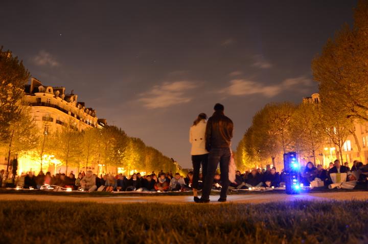 Veilleurs à Paris