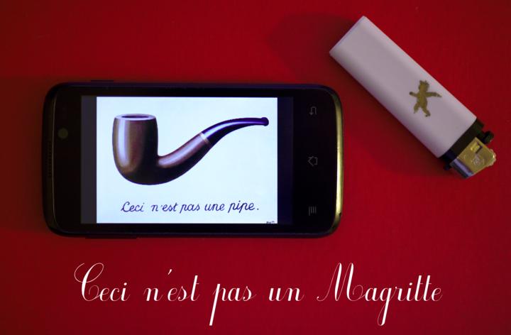 Ceci n'est pas un Magritte